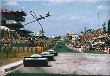Jacky ICKX SIGNED Porsche AUTOGRAPH 12x8 Photo AFTAL COA 24 hour Le Mans