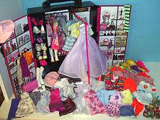 %**70 Teile*Barbie`s großer Kleiderschrank*Kleidung*Schuhe*Fashionistas-Style**%