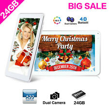 "24GB 9"" Inch Android 4.4 Quad Core WIFI Bluetooth Tablet PC Dual Camera UK Stock"