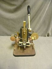Wyman Engraving Ed Mark Gold Stamper B Foil Heat Hot Press Embossing Machine 125