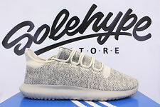 ADIDAS TUBULAR SHADOW KNIT LINEN TAN CLEAR LIGHT BROWN BEIGE BB8824 SZ 8.5