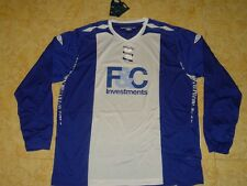 Birmingham City Soccer Jersey Umbro ls Top Football Shirt New