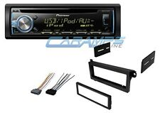 NEW PIONEER CAR STEREO RADIO RECEIVER CD PLAYER USB WITH COMPLETE INSTALL KIT