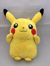 "Licensed Pkemon Pikachu Japanese soft toy, 11.8"", 30cm, poor condition (O1030)"