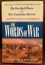 SIGNED The Words of War by Donagh Bracken Great Civil War History NY Times