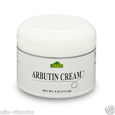 Arbutin Cream 4 oz.  Helps Skin Whitening,  Dark Spots and Blemish Control