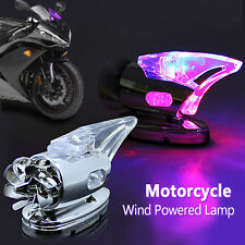 HOT Mini Motorcycle Wind Powered LED Light For Yamaha Honda BMW Aprilia Toyota