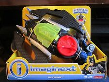 Fisher Price Imaginext DC Super Friends Batman Powerpad Batwing 2015 Vehicle NEW