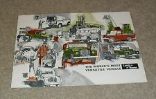 LAND Rover BROCHURE 1973 - 88 + SWB & LWB 109-hard top-PICK UP-STATION WAGON