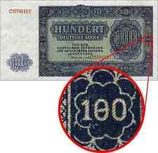 """Ro.346F DDR """"180"""" Deutsche Mark 1948 Fehldruck"""
