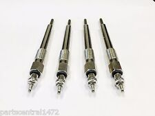 Brand New Glow Plugs (Set of 4) for Isuzu GMC Chevrolet 4HE1 4.8L Diesel 99-04