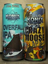2 beer cans Konix Brewery 500 ml from Russia 2016