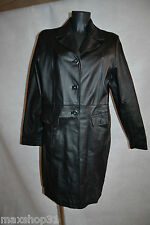 VESTE CUIR CLOCKHOUSE BLOUSON TAILLE 44/XXL /GIACCA/CHAQUETA/JACKET LEATHER TBE