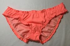 VICTORIAS SECRET SWIM THE RUFFLE CHEEKY RUCHED BIKINI BOTTOM VICTORIA'S NWT