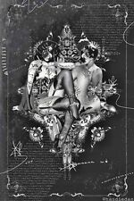 Handiedan Art Print LE 100 Signed Medium (Up to 30in) NYX NO. 1 Poster