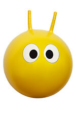 *NEW* Children's YELLOW HOPPIT Space Hopper Bounce Ball - 42cm diameter
