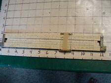 vintage Slide Rule: K & E 4081-3 & N4053-3 middle, broken glass, as found