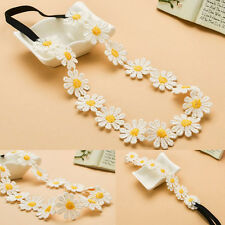 Chic Sunshine Flower Boho Women Girl Elastic Hairband Headband Festival Wedding