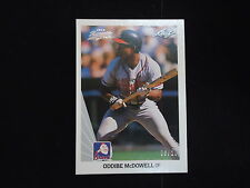 2012 Leaf Memories Buy Back Card #112 Oddibe McDowell #6/20