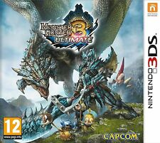 Monster Hunter 3 Ultimate NINTENDO 3DS 2DS Totalmente Nuevo Y Sellado