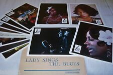 LADY SINGS THE BLUES  ! diana ross jeu 12 photos cinema musique lobby cards 1972