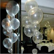 100PCS 12'' Clear Latex Pearl Balloons Party Wedding Birthday Anniversary Decor