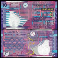 Hong Kong 10 DOLLARS 1.7.2002 P 400a UNC REPLACEMENT ZY