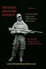 200mm 1/9 US Navy SEAL sniper with Mcmillan Tac-338, sculpted by Maurice Corry