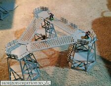 HC3D -Tower Kit 3 Pack with walkways- Terrain & Scenery- 40k 28mm