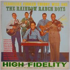 CHUBBY WISE & RAINBOW RANCH BOYS: Tennessee Fiddle BLUEGRASS Starday ORIG LP
