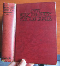 The Cokesbury Game Book by Arthur Depew 1939 HC -games and leisure activities