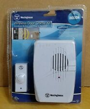 Westinghouse T00405 Wireless Door Chime Kit with Cordless Button and Plug-in
