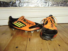 ADIDAS F50 FOOTBALL BLADES BOOTS SIZE 4 GOOD CONDITION