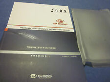 2008 KIA SPORTAGE OWNERS MANUAL OWNER'S SET