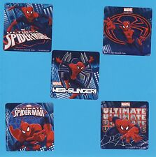 15 Ultimate Spiderman - Large Stickers - Party Favors - Rewards