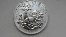 1999 Britannia 2 Pounds Chariot Silver BU coin