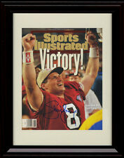 Framed Steve Young Sports Illustrated Autograph Print - 49ers Super Bowl Champs