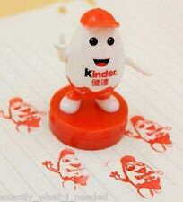Kinder Surprise Kinderino Ink Stamp Collectors Item Limited Edition China RARE