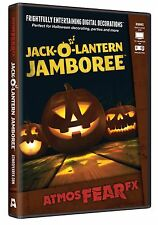 Halloween ATMOSFEARFX JACK-O-LANTERN DVD TV WINDOW PROJECTION Haunted House NEW