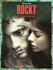 New! ROCKY BROADWAY Piano Vocal Chords Sheet Music Song Book HL00126814