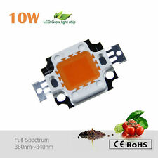 10W led Chip bead Grow light full spectrum 380~840n​m 4 hydroponic plant growth