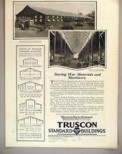 Truscon Steel Co. PRINT AD - 1919 ~ Standard Buildings ~ Youngston, OH