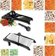 STAINLESS STEEL PROFESSIONAL MANDOLINE SLICER JULIENNE CUTTER CHOPPER FRUIT VEGE