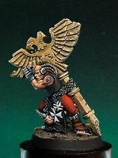 Black Templars 4 figures! Chaplain Grimaldus painted metal resin Warhammer 40k