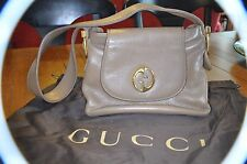 1970 Inspired Authentic Gucci Shoulder Bag with Oval GG