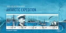 Australian Antarctic Territory-Expedition Ist issue sheet fu/cto-2011-Birds