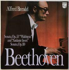 """ALFRED BRENDEL BEETHOVEN Sonata Op. 53 """"Waldstein"""" 1974 Philips NM"""