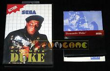 DYNAMITE DUKE Master System  Versione Europea PAL ••••• COMPLETO