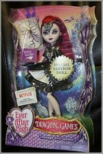 "NEW EVER AFTER HIGH DOLL DRAGON GAMES 10"" TEENAGE EVIL QUEEN SPECIAL EDITION BIN"