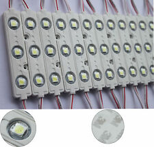 600pcs white waterproof ip68 5050 3led module Injection border light sign strip